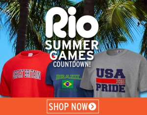 Rep Your Country in the Rio Games