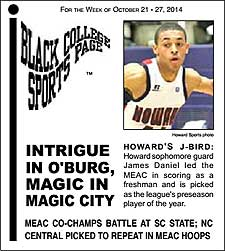 Black College Sports Page: Vol 21, No 12: Intrigue In O'Burg, Magic In Magic City