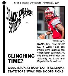 Black College Sports Page: Vol 21, No 13: Clinching Time?