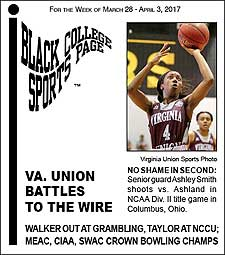 Black College Sports Page: Vol 23, No 35: Va. Union Battles To The Wire