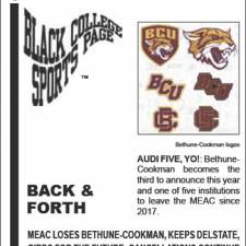 Black College Sports Page: Vol 26, No 48: Back & Forth
