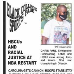 Black College Sports Page: Vol 27, No 2: HBCUs And Racial Justice At NBA Restart